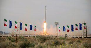 El satélite fue lanzado desde el desierto de Markazi, en el centro de Irán.