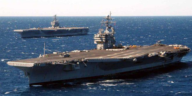 Despedido el comandante del portaviones nuclear que lanzó SOS en alta mar