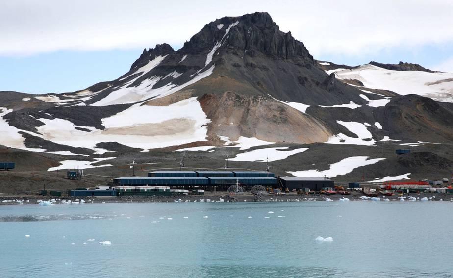 La Antártida fue el hogar de las ranas de casco chilenas / Foto Marinha do Brasil / Handout via REUTERS