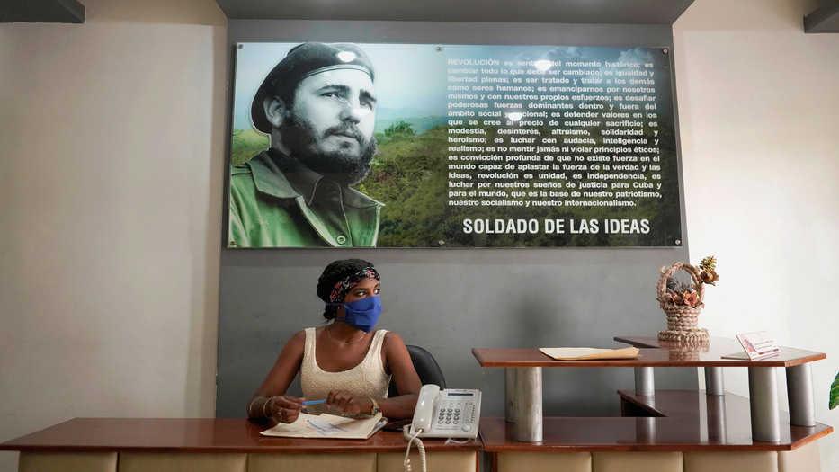 """El presidente recordó que su gobierno ha impuesto """"numerosas sanciones contra  la dictadura comunista de Cuba por sus acciones"""""""