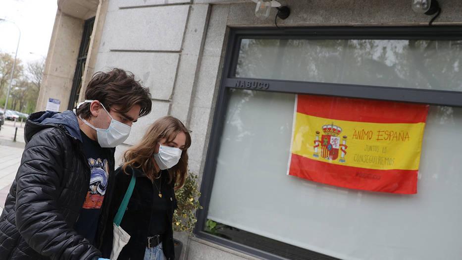 España mantiene la tendencia descendente