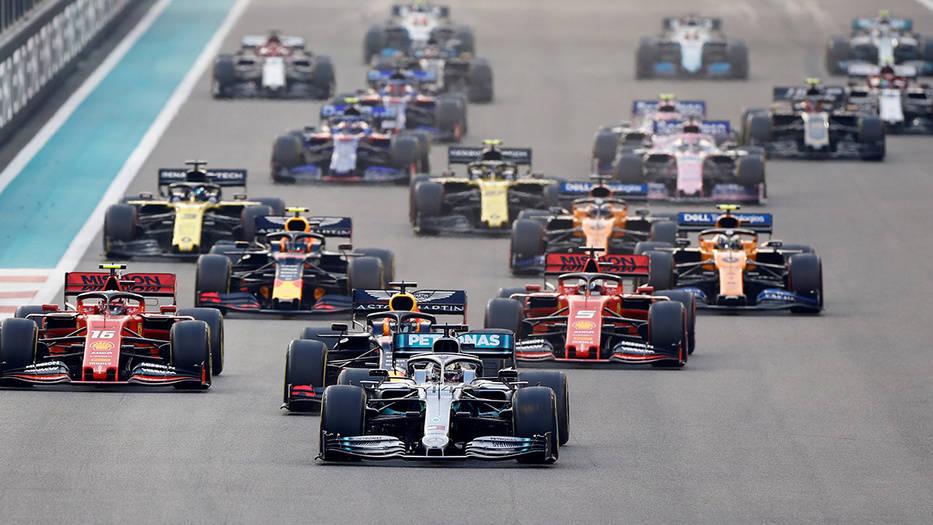 La Fórmula 1 sin público