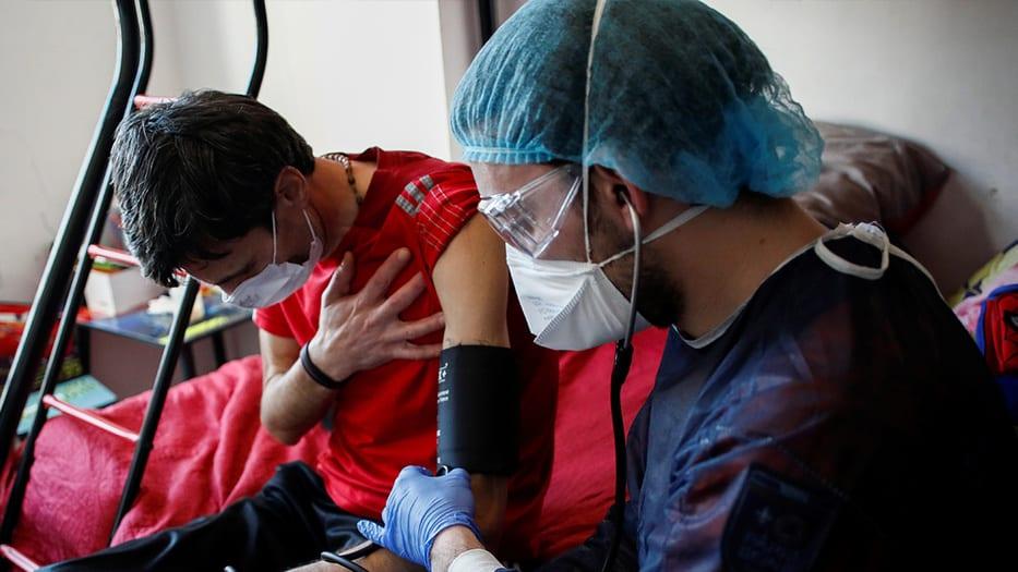 mundo cierra la semana rozando 1.200.000 infectados