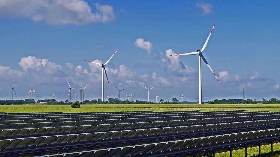 Las energías renovables crecimiento de la economía