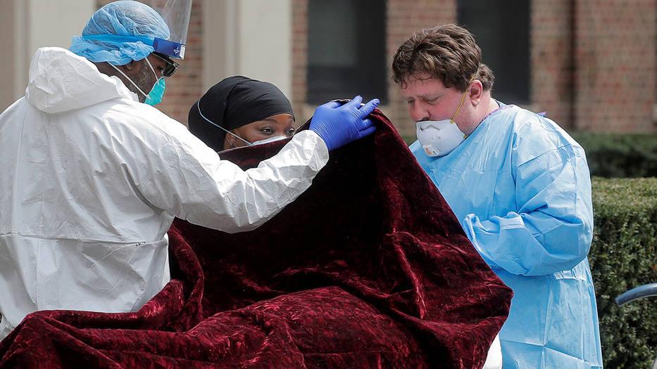 EE.UU bate récord en muertes diarias