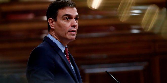"""Sánchez propone un pacto para """"la reconsturcción económica de España"""""""