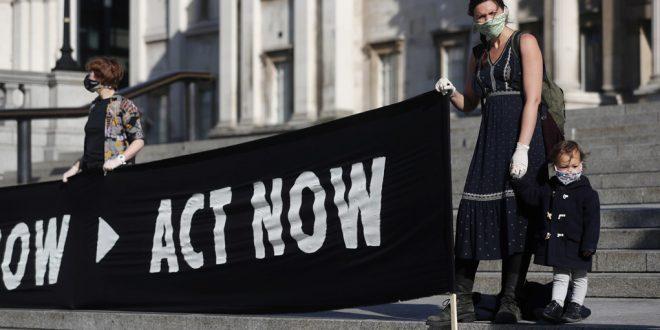 Ecologistas protestan en Alemania
