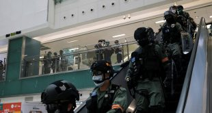 El régimen de Xi Jinping ha enfrentado cualquier tipo de disidencia en cualquiera de sus latitudes. En la imagen efectivos militares se disponen a anular una protesta en Hong Kong