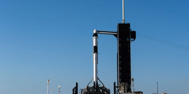 Con éxito despegó la nave espacial Crew Dragon de la NASA