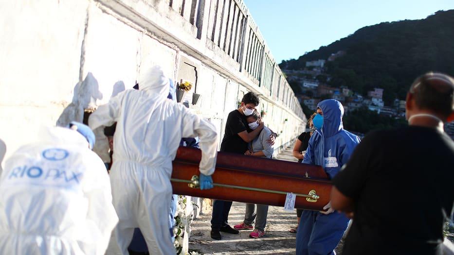 EE UU Brasil muertes Covid-19