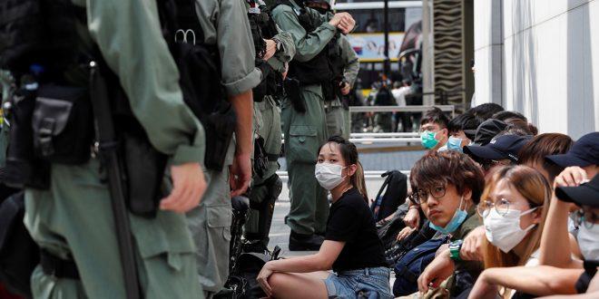 Las protestas dejaron este miércoles unos 300 detenidos en Hong Kong