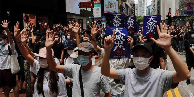 Vuelven las protestas a las calles de Hong Kong
