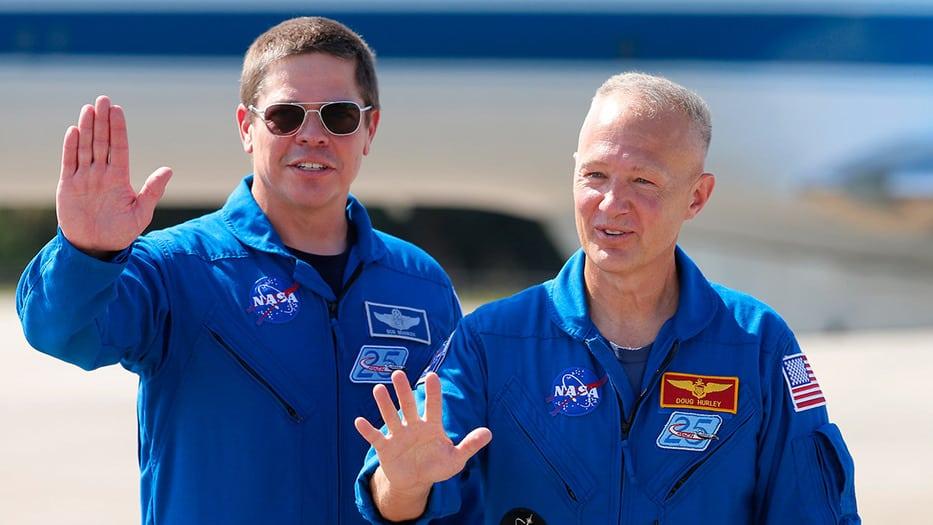 NASA astronautas vuelo