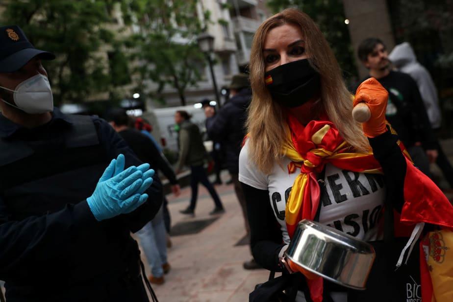 avance a medias de Madrid en la desescalada