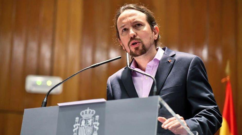 Pablo Iglesias, vicepresidente segundo del gobierno de España / Facebook Podemos