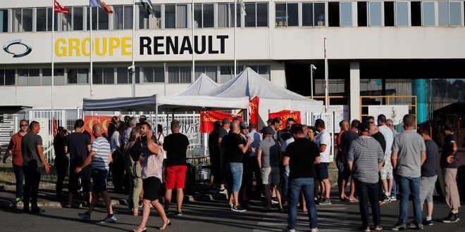 Renault recorta producción y 15.000 empleos en el mundo