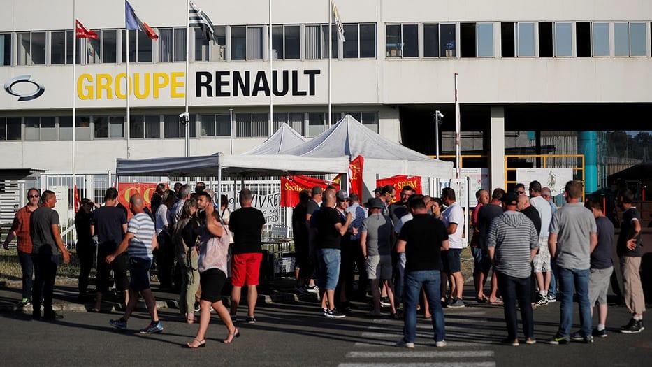 Renault recorte de producción y empleos