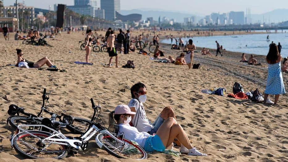 Vigilancia con drones marcará el regreso a las playas