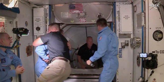 Crew Dragon: después de casi 10 años una nave tripulada se acopló a la ISS