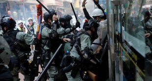 En las protestas en Hong Kong contra los proyectos de ley de extradición y de Seguridad Nacional el exceso policial ha estado muy presente