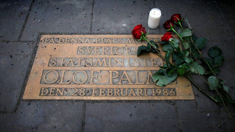 Fiscalía sueca identifica a Stig Engstrom como el asesino de Olof Palme