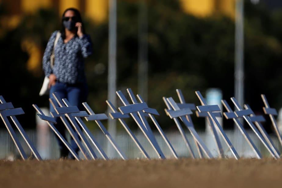La COVID-19 avanza, más de 13.000.000 de contagiados en el mundo / Foto REUTERS / Adriano Machado