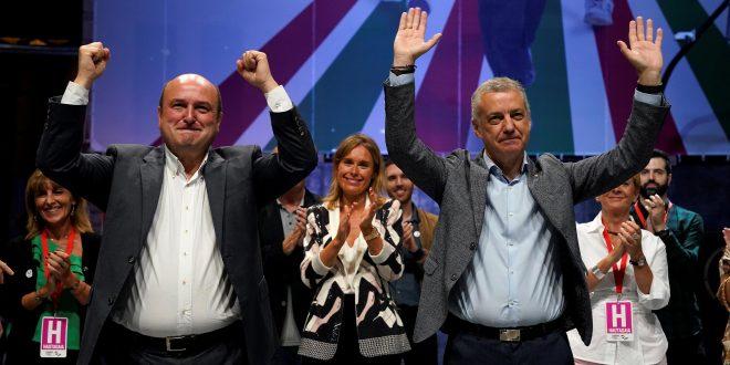 Feijóo y Urkullu se alzan con las mayorías en elecciones de Galicia y País Vasco