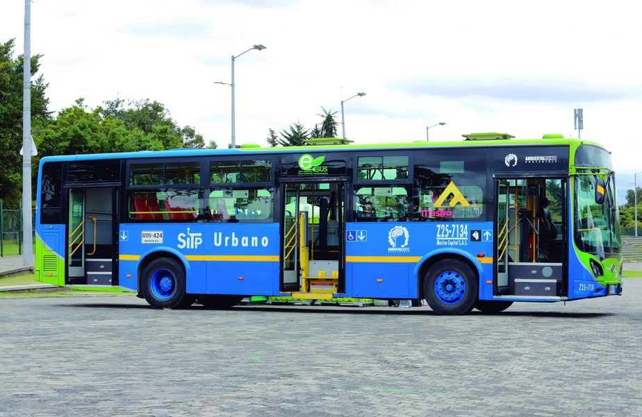 Colombia líder en transporte verde