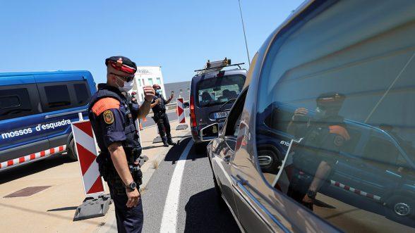 España brotes COVID-19
