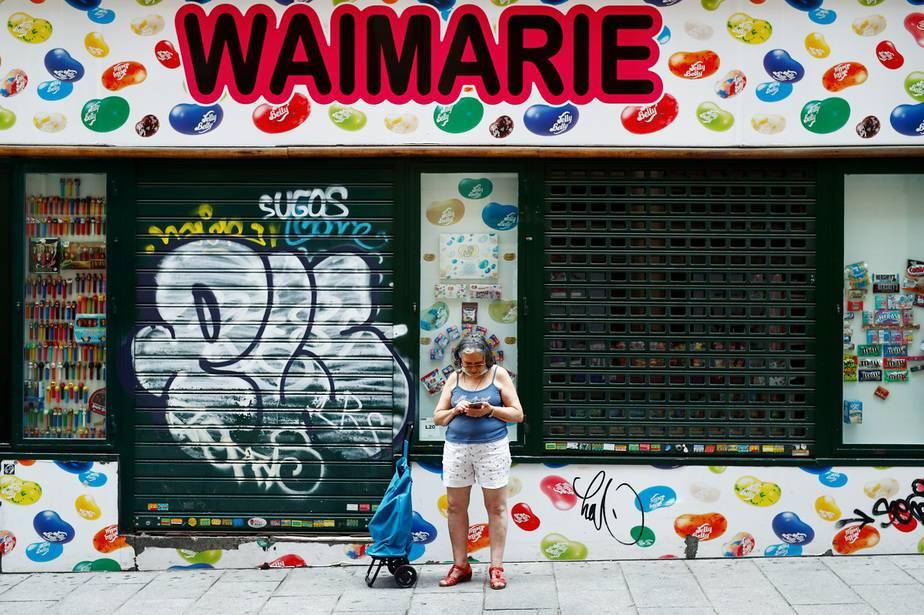 El desempleo y el coronavirus, los dos enemigos de España / Foto REUTERS / Javier Barbancho