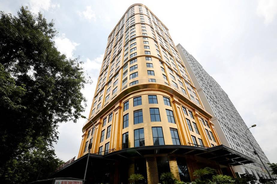 Vietnam tiene el único hotel del mundo forrado en oro 24 quilates / Foto REUTERS / Kham