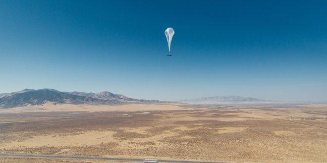 Project Loon usa globos para llevar Internet a zonas remotas