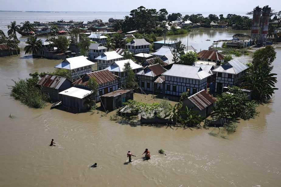 Las inundaciones en Bangladesh