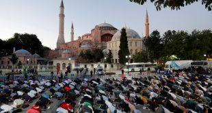 Reconvertir Santa Sofía en mezquita