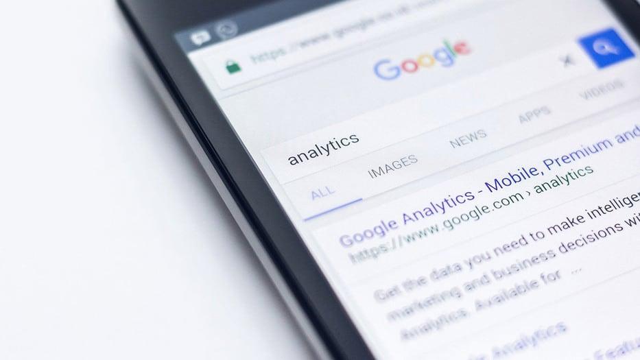 búsqueda de Google tráfico