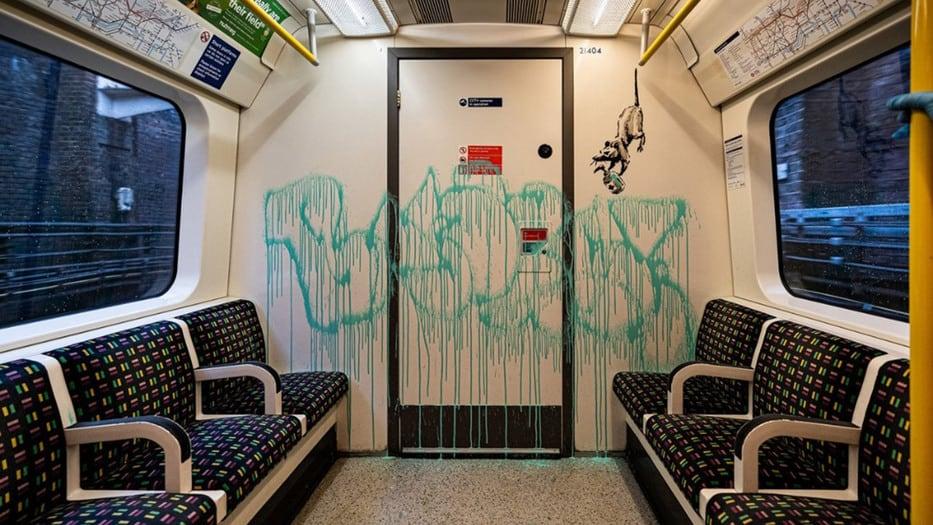 bansky metro de londres