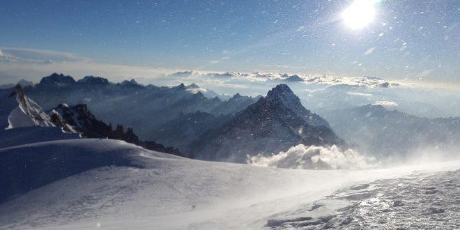 El derretimiento en el Mont Blanc abre una cápsula del tiempo