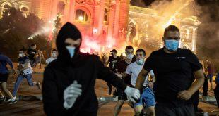 protestas en belgrado