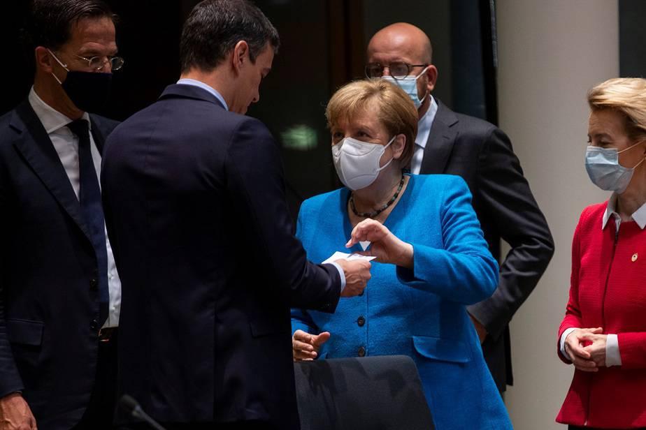 """La UE insiste en acercar a los """"frugales"""" al plan de recuperación / Foto Francisco Seco / Pool via REUTERS"""