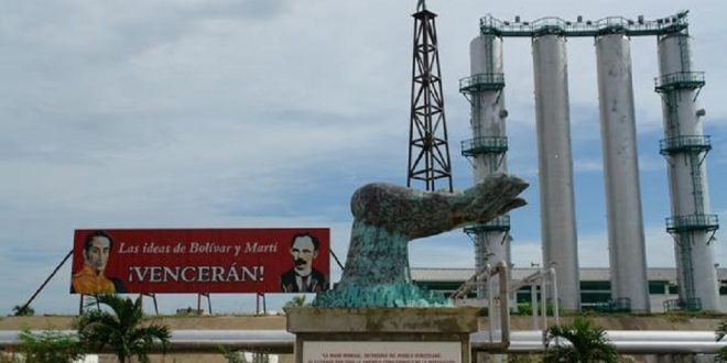 refinería de Cienfuegos