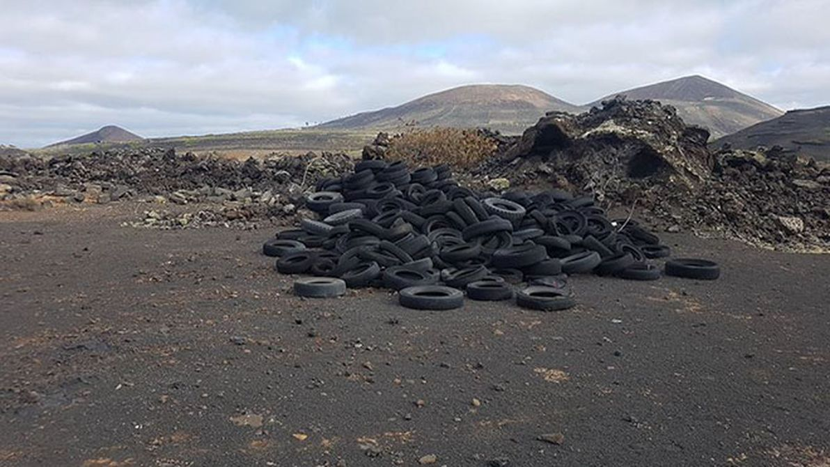 neumáticos vertederos