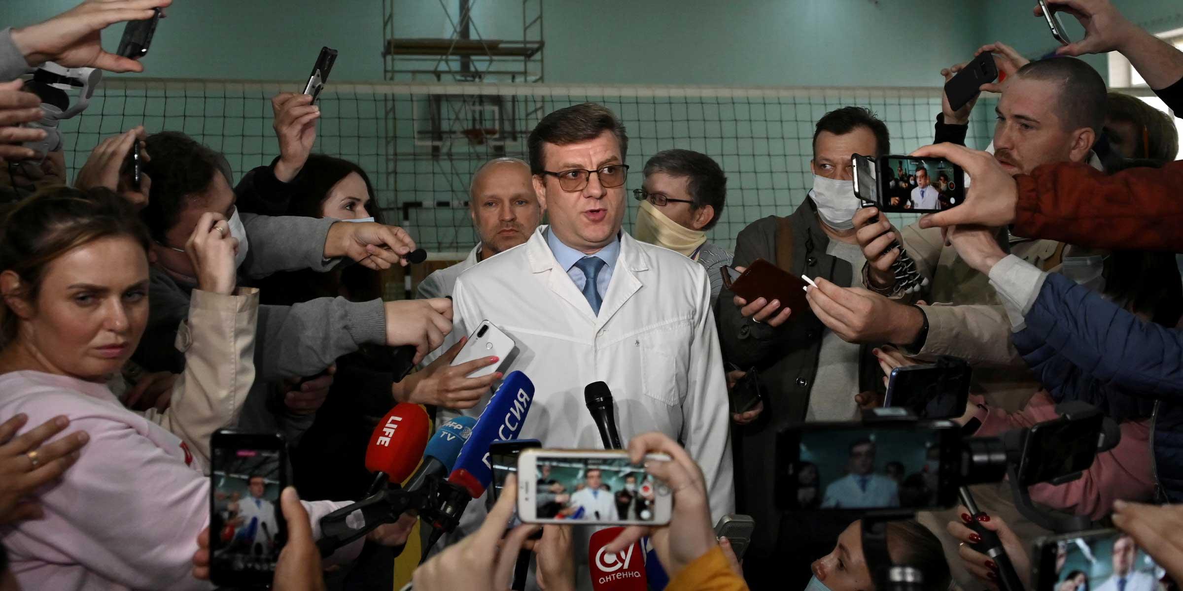 Alexei Navalni envenenado