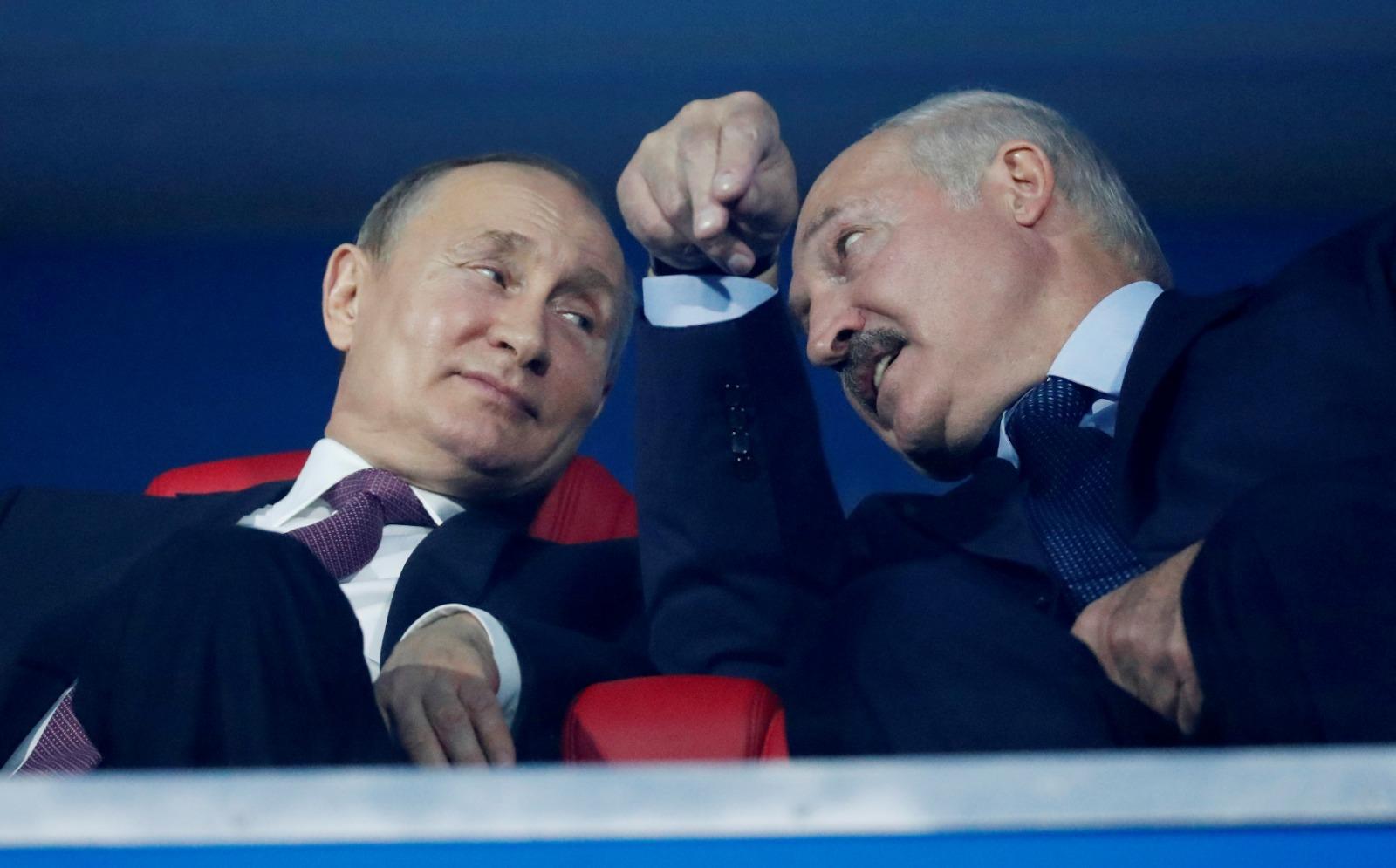 Putin crisis Bielorrusia