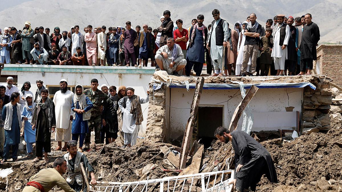lluvias Afganistán