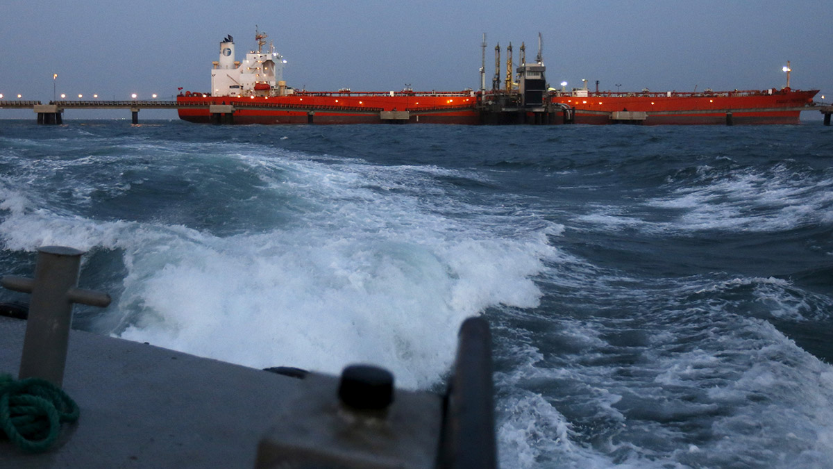 combustible iraní a Venezuela
