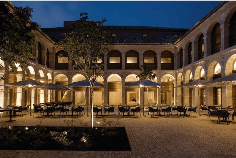 CUNA DE CERVANTES. Colegio-convento del siglo XVII en el antiguo Colegio Mayor de San Jerónimo