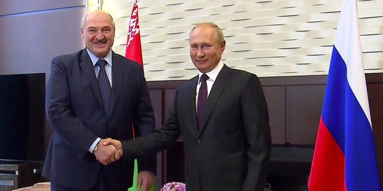 Lukashenko y Putin