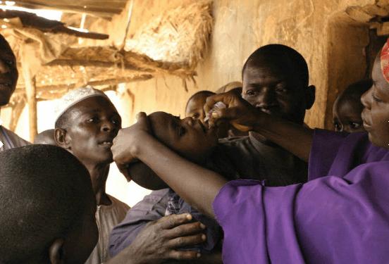Poliomielitis África vacuna