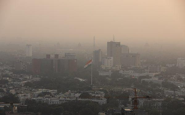 COVID 19 contaminación del aire