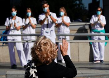 El brote de la enfermedad por coronavirus (COVID-19) en Madrid